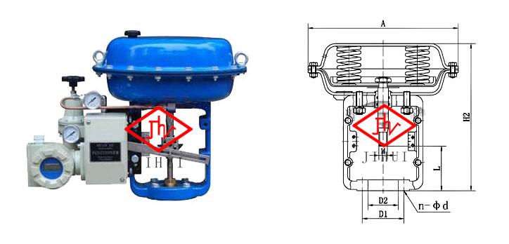 zha/b气动薄膜执行器图片